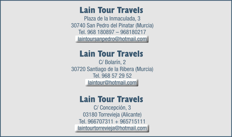 contact with lain tours